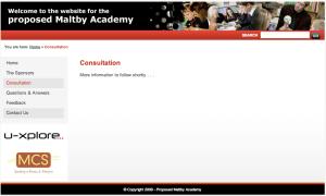 Maltby Academy Consultation