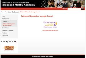 """""""Rotheram Metropolitan borough Council"""""""